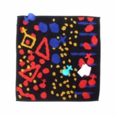 【新品】 廃盤 Vivienne Westwood ヴィヴィアンウエストウッド オーブドットパイルハンカチ (ORB タオル ハンカチーフ 黒) 114599