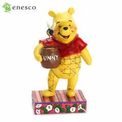 エネスコ ディズニー くまのプーさん WINNIE THE POOH 木彫り調フィギュア くまのプーさん ギフト 出産祝い 男の子 女の子 おもちゃ 誕生
