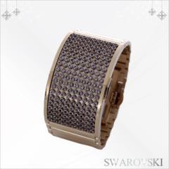 スワロフスキー 腕時計 レディース 新作 ブランド 新品 新作 ブランド セール 人気 Elis ジュエリーウォッチ ゴールド オレンジ SALE