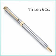 TIFFANY ティファニー Tクリップ ボールペンルテニウム ボン ギフト ブランド