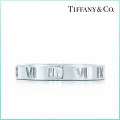 【Tiffany&Co.】ティファニー 指輪 シルバー レディース アトラス ナロー リング