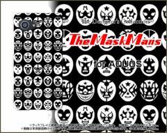 AQUOS R Compact SHV41 701SH SERIE mini SHV38 U SHV37 SERIE SHV34 ハード スマホカバー ケース The Mask Mans(ブラック) /送料無料