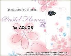 AQUOS SERIE mini SHV38 U SHV37 SERIE SHV34 アクオス ハード スマホ カバー ケース Pastel Flower type004 /送料無料