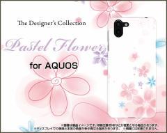 AQUOS R2 SH-03K SHV42 706SH sense SH-01K SHV40 R EVER ハード スマホ ケース Pastel Flower type004 /送料無料