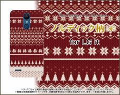 スマートフォン ケース LG it LGV36 au 冬 かわいい おしゃれ ユニーク 特価 lgv36-nnu-002-089