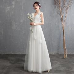 1f5e3beb25775 ウェディングドレス 花嫁 二次会 チュール レース ロング丈 大きいサイズ ホワイト 結婚式 白 ホワイト 大きい