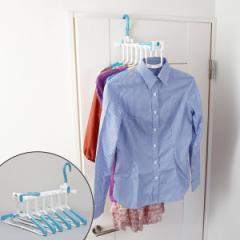 洗濯ハンガー シャツハンガー 6連 室内外干し用