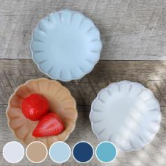 プレート 9cm 輪花皿 花皿 花シリーズ 洋食器 陶器 日本製