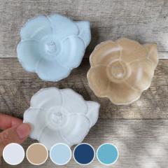 プレート 8cm 輪花皿 花皿 花シリーズ 洋食器 陶器 日本製