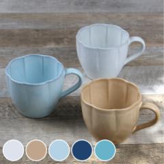 マグカップ 360ml 花シリーズ 洋食器 陶器 日本製 ( コップ スープカップ おしゃれ 花 )