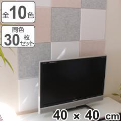 吸音パネル フェルメノン 40x40cm 45度カットタイプ 30枚セット ( パネル ボード )