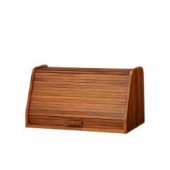 ブレッドケース 卓上収納 天然木 CALMA 幅50cm ( 食パンケース )