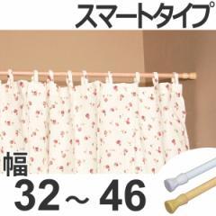突っ張り棒 取付幅:32〜46cm ミニSS 突ぱりスマートポール 細タイプ