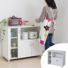 カウンターボード 戸棚 キッチン収納 SIM 幅90cm