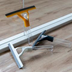 窓掃除 スプレー付き ガラスワイパー プリート Plito ガラス掃除 ワイパー