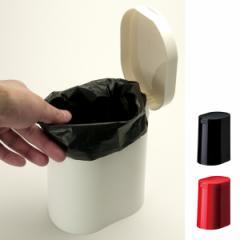 トイレポット kaz clean サニタリーポット ( 蓋付き おしゃれ トイレ用品 )