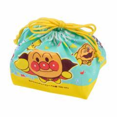 お弁当袋 ランチ巾着 アンパンマン 子供用 キャラクター ( 給食袋 ランチボックス巾着 子供用お弁当袋 あんぱんまん )