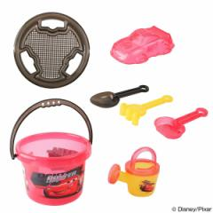 お砂場セット 水遊び バケツセット カーズ おもちゃ
