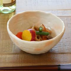 三つ足小鉢 和食器 御本手風 変形皿シリーズ 美濃焼 日本製 磁器