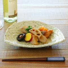 半月皿 和食器 日和御深井 変形皿シリーズ 美濃焼 日本製 磁器