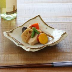 ちぎり皿 和食器 錆粉引 変形皿シリーズ 美濃焼 日本製 磁器