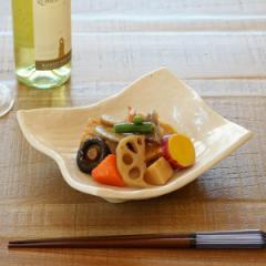 変型長角皿 和食器 肌色志野 変形皿シリーズ 美濃焼 日本製 磁器