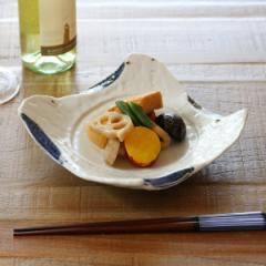 変型皿 和食器 渕呉須 変形皿シリーズ 美濃焼 日本製 磁器
