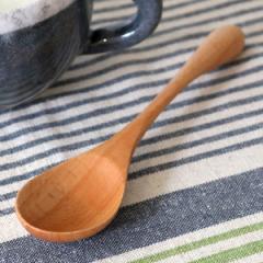 スプーン 木 長さ17cm L knob 木製 カトラリー 食器