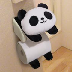 トイレットペーパーホルダーカバー パンダのペーパーホルダーカバー