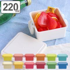 お弁当箱 ジェルクール スクエア ライトカラー S 1段 220ml 保冷剤一体型