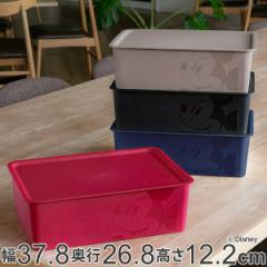 収納ボックス ふた付き レギュラーサイズ ミッキーマウス スクエアBOX