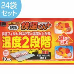 快温くん プラス 温度2段階 ハルレギュラー 10P×24袋 ( 防寒 寒さ対策 )