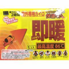 快温くん プラス 即暖 貼らないミニ 5P ( 寒さ対策 )