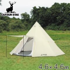 テント ワンポールテント 大人数用 UVカット キャリーバッグ付 オクタゴン 6人用 7人用 8人用 ( 送料無料 アウトドア ポール