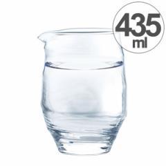 ガラス コップ お猪口 片口 435ml