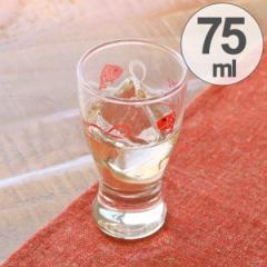 盃 ガラス 75ml 酒杯 鯛と水引柄