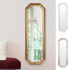 ウォールミラー 壁掛けミラー クラシック調 高さ120cm ( 鏡 姿見 アンティーク 吊り鏡 )
