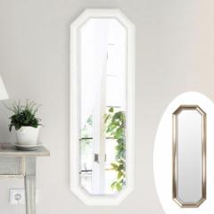 ウォールミラー 壁掛けミラー シャビー調 高さ120cm ( 鏡 姿見 吊り鏡 )