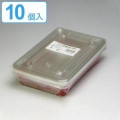 フードケース 赤底8号 10個入( フードパック 使い捨て容器 )