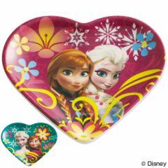 小皿 ハート型ミニプレート アナと雪の女王 メラミン製 キャラクター