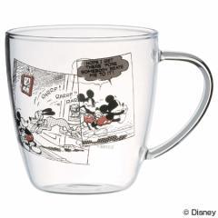 マグカップ 耐熱ガラスマグカップ ミッキーマウ...