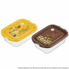 お弁当箱 シール容器 くまのプーさん ハニーヘブン 500ml 2個セット プラスチック製