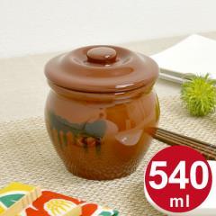 漬物容器 ミニ壺 0.54L 蓋付 陶器