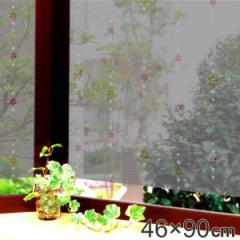 遮熱・断熱窓飾り 両面柄付 GCV-4671 46cm×90cm