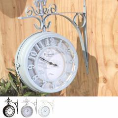 両面時計 OLD STREET BOTHSIDE CLOCK L ( オブジェ )