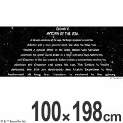 スターウォーズ カーテン レース エピソード6 100×198cm ( EPISODEVI )