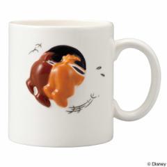 マグカップ チップ&デール ハプニング マグ 320ml 陶器 食器 キャラクター ( 食洗機対応 コップ 電子レンジ対応 チップとデール 磁器