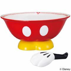 ラーメン鉢&れんげ ラーメンセット 食器 ミッキーマウス 磁器製 食器 ( お椀 )