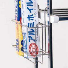 水切り棚用 ラップホルダー ステンレス製