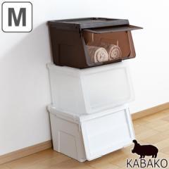 収納ボックス 前開き KABAKO 幅45×奥行42×高さ31cm カバコ M